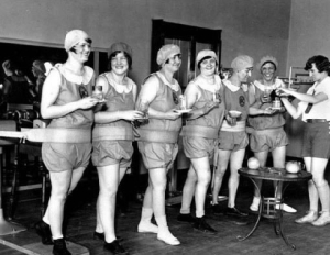 Is Red Light Therapy a glorified version of this? Who knows but I think I need to wear an outfit like these ladies are wearing to the gym tonight.